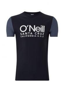 O'Neill---UV-shirt-met-korte-mouwen-voor-heren---Cali---Zwartgrijs