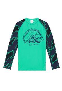 O'Neill---UV-shirt-voor-jongens---Longsleeve---Wave---Salinagroen