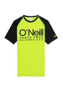 O'Neill---UV-shirt-met-korte-mouwen-voor-jongens---Cali---Geel
