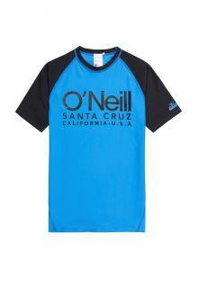 O'Neill---UV-shirt-met-korte-mouwen-voor-jongens---Cali---Helderblauw