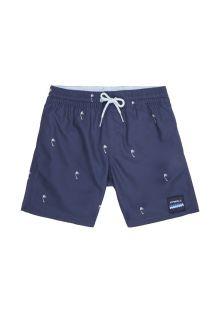 O'Neill---Zwembroek-voor-jongens---Mini-Palms---Donkerblauw