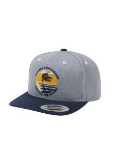 O'Neill---Baseball-cap-voor-jongens---Stamped---Zilvergrijs/Donkerblauw