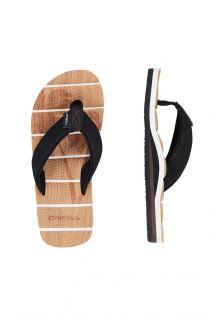 O'Neill---Slippers-voor-jongens---Arch-Freebeach---Beige/Zwart
