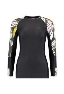 O'Neill---UV-shirt-voor-dames---Longsleeve---Suru---Zwartgrijs