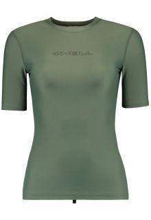 O'Neill---UV-shirt-met-korte-mouwen-voor-dames---Essential---Leliegroen