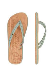 O'Neill---Slippers-voor-dames---Ditsy---Leliegroen