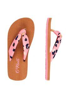 O'Neill---Slippers-voor-meisjes---Woven-Strap---Roze