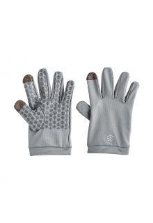 Coolibar---UV-werende-handschoenen-voor-kinderen---Y-Gannet---Kiezelgrijs