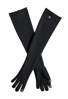 Coolibar---UV-werende-handschoenen-met-lange-mouw-voor-volwassenen---Culebra---Zwart