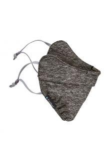 Coolibar---UV-werend-gezichtsmasker-voor-volwassenen---Zenith---Houtskool