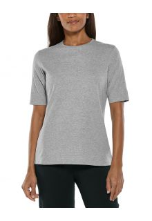 Coolibar---UV-Shirt-voor-dames---Morada-Everyday---Grijs