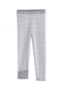 Coolibar---UV-Legging-voor-baby's---LumaLeo---Grijs/Wit
