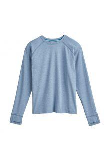 Coolibar---UV-Shirt-voor-kinderen---Longsleeve---LumaLeo---Lichtblauw