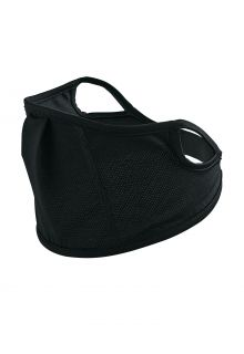 Coolibar---UV-werend-gezichtsmasker-voor-kinderen---Blackburn---Zwart
