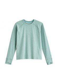 Coolibar---UV-Shirt-voor-kinderen---Longsleeve---LumaLeo---Lichtgroen