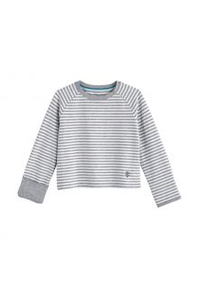 Coolibar---UV-Shirt-voor-baby's---Longsleeve---LumaLeo---Grijs/Wit