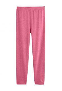 Coolibar---UV-Leggings-voor-kinderen---Monterey---Dahlia-Roze