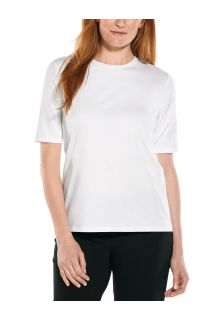 Coolibar---UV-Shirt-voor-dames---Morada-Everyday---Wit