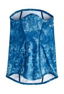 Coolibar---UV-werende-Sjaal-voor-volwassenen---Abacos---Blauw-Water