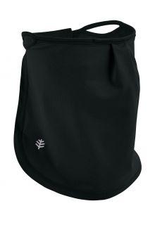 Coolibar---UV-werend-gezichtsmasker-voor-kinderen---Crestone---Zwart