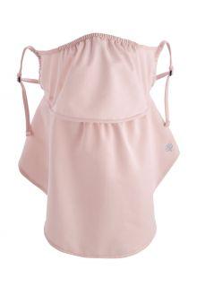 Coolibar---UV-werend-gelaagd-gezichtsmasker-voor-volwassenen---Vermilion---Roze