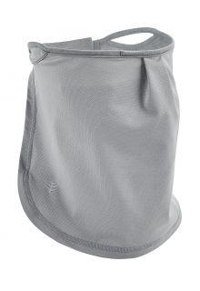 Coolibar---UV-werend-gezichtsmasker-voor-kinderen---Crestone---Kiezelgrijs