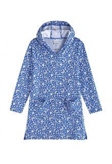 Coolibar---UV-Strandtuniek-voor-meisjes---Catalina---True-Blue