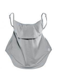 Coolibar---UV-werend-gelaagd-gezichtsmasker-voor-volwassenen---Vermilion---Kiezelgrijs