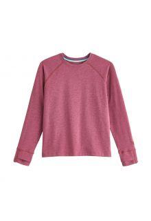 Coolibar---UV-Shirt-voor-kinderen---Longsleeve---LumaLeo---Bessen
