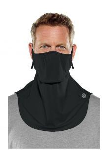 Coolibar---UV-werend-gelaagd-gezichtsmasker-voor-volwassenen---Vermilion---Zwart