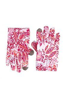 Coolibar---UV-werende-handschoenen-voor-kinderen---Y-Gannet---Multicolor-Paisley