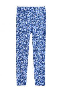 Coolibar---UV-Leggings-voor-kinderen---Monterey---True-Blue