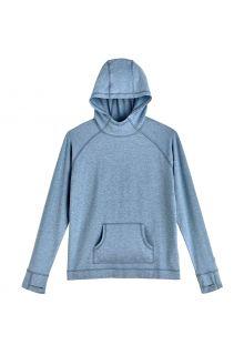 Coolibar---UV-werende-Hoodie-voor-kinderen---LumaLeo---Lichtblauw