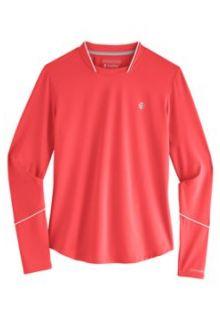 Coolibar---UV-Sportshirt-voor-dames---Longsleeve---Match-Point---Roze