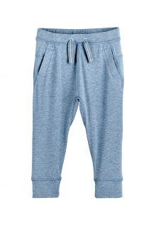 Coolibar---Casual-UV-werende-joggingbroek-voor-peuters---Conico---Lichtblauw