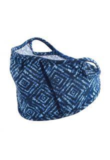 Coolibar---UV-werend-gezichtsmasker-voor-kinderen---Blackburn---Diamantblauw