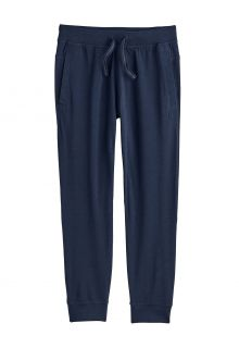 Coolibar---Casual-UV-joggingbroek-voor-kinderen---Conico---Navy