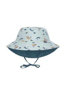 Lässig---Omkeerbare-UV-Bucket-hoed-voor-baby's---Boot---Mint