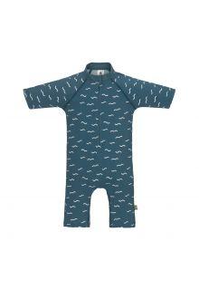 Lässig---UV-Zwempak-voor-baby's---Sunsuit-Golven---Blauw
