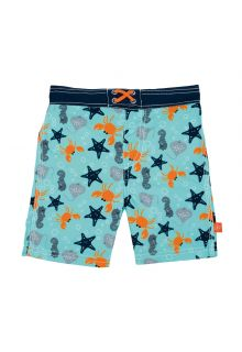 Lässig---Zwemshort-voor-jongens-Star-Fish---Lichtblauw