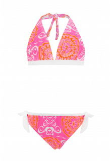 Snapper-Rock---Bikini-voor-meisjes---Neon-roze