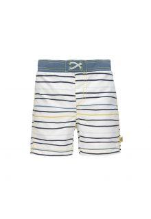 Lässig---UV-zwemshorts-voor-jongens---streepjes---multicolor