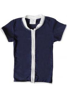 Snapper-Rock---UV-zwemshirt-voor-kinderen---Navy-Rits