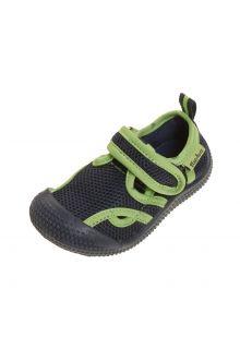 Playshoes---Waterschoenen-voor-kinderen---Marineblauw/Groen