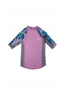 O'Neill---UV-Zwemshirt-voor-meisjes---Longsleeve---Print---Wilde-Lavendel