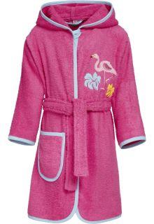 Playshoes---Badjas-voor-meisjes---Flamingo---Roze
