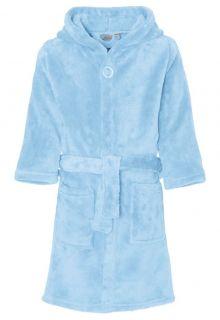 Playshoes---Fleece-badjas-met-capuchon---Lichtblauw