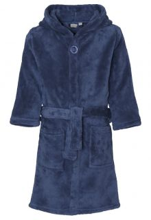 Playshoes---Fleece-badjas-met-capuchon---Donkerblauw