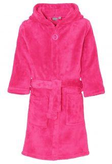 Playshoes---Fleece-badjas-met-capuchon---Roze