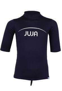 JuJa---UV-zwemshirt-korte-mouwen-kinderen---donkerblauw
